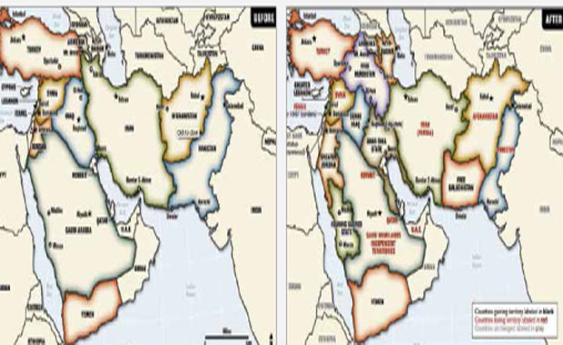 "Plans for Redrawing the Middle East: The Project for a ""New Middle East"""